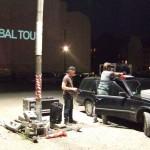 Open Air Screening NO, Global Tour - Oranienburger Strasse, Berlin
