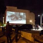 Open Air Screening NO, Global Tour - Oranienburger Strasse, Berlin ©ÜberLebenBerlin