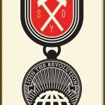 """Democracia """"Orden (Join The Revolution)"""" - 70x50cm, Edition Siebdruck handgefertigt"""